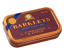 Barkleys Cinnamon And Apple Mints Tin 50g